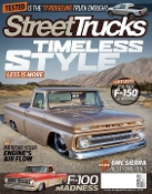 Street Trucks Magazine Subscription for prison inmates