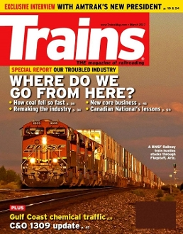 Trains Magazine Subscription for prison inmates