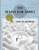 300 Mazes For Adult Easy to Hard: new book mailed to prison innmate