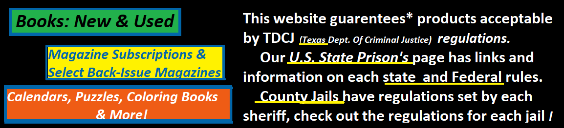 IMailToPrison Com - Approved Vendor TDCJ